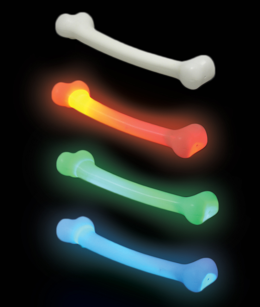 Fun Central AU537 LED Light Up Bone Wand - Multicolor
