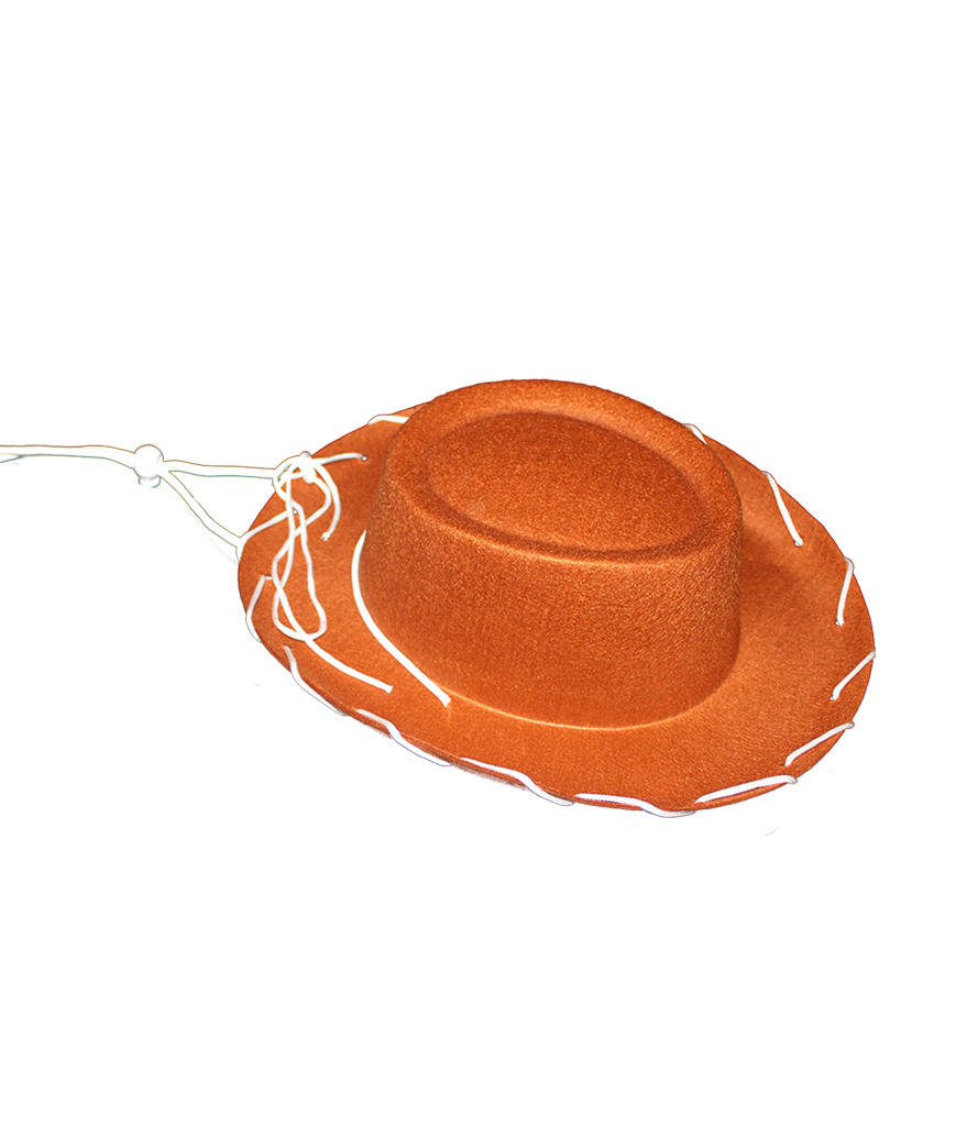 Children Felt Cowboy Hat - Brown