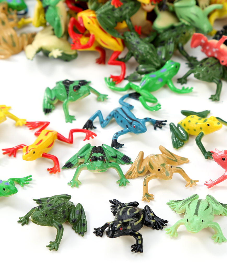 1 inch Mini Frog 72ct - Assorted