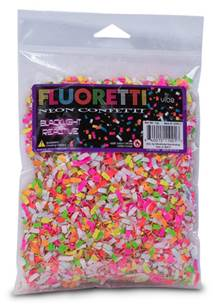 Vibe Fluoretti Neon Confetti - 1oz Package