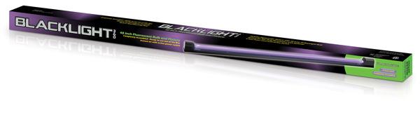 48-inch Slimline Blacklight 360 Fixture & Tube