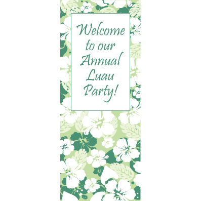 Bahama Green - Custom Door Banner