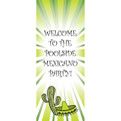 Fiesta Greenburst - Custom Door Banner