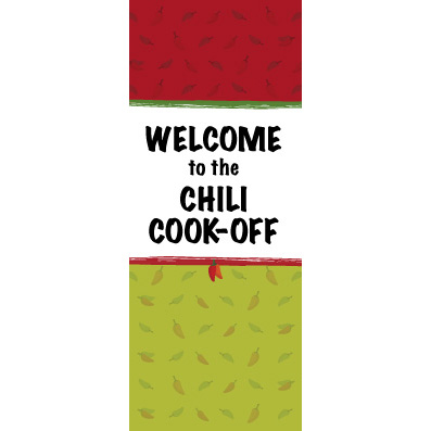 Pepper Madness - Custom Door Banner