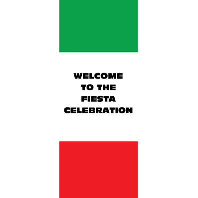 Mexican Stripes - Custom Door Banner