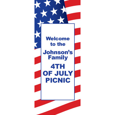 American Valor - Custom Door Banner