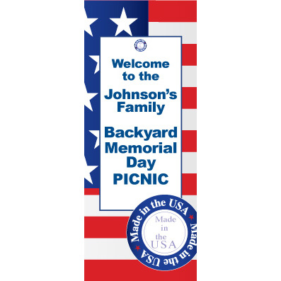 Made In The USA - Custom Door Banner