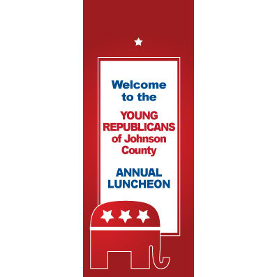 Republican Red - Custom Door Banner