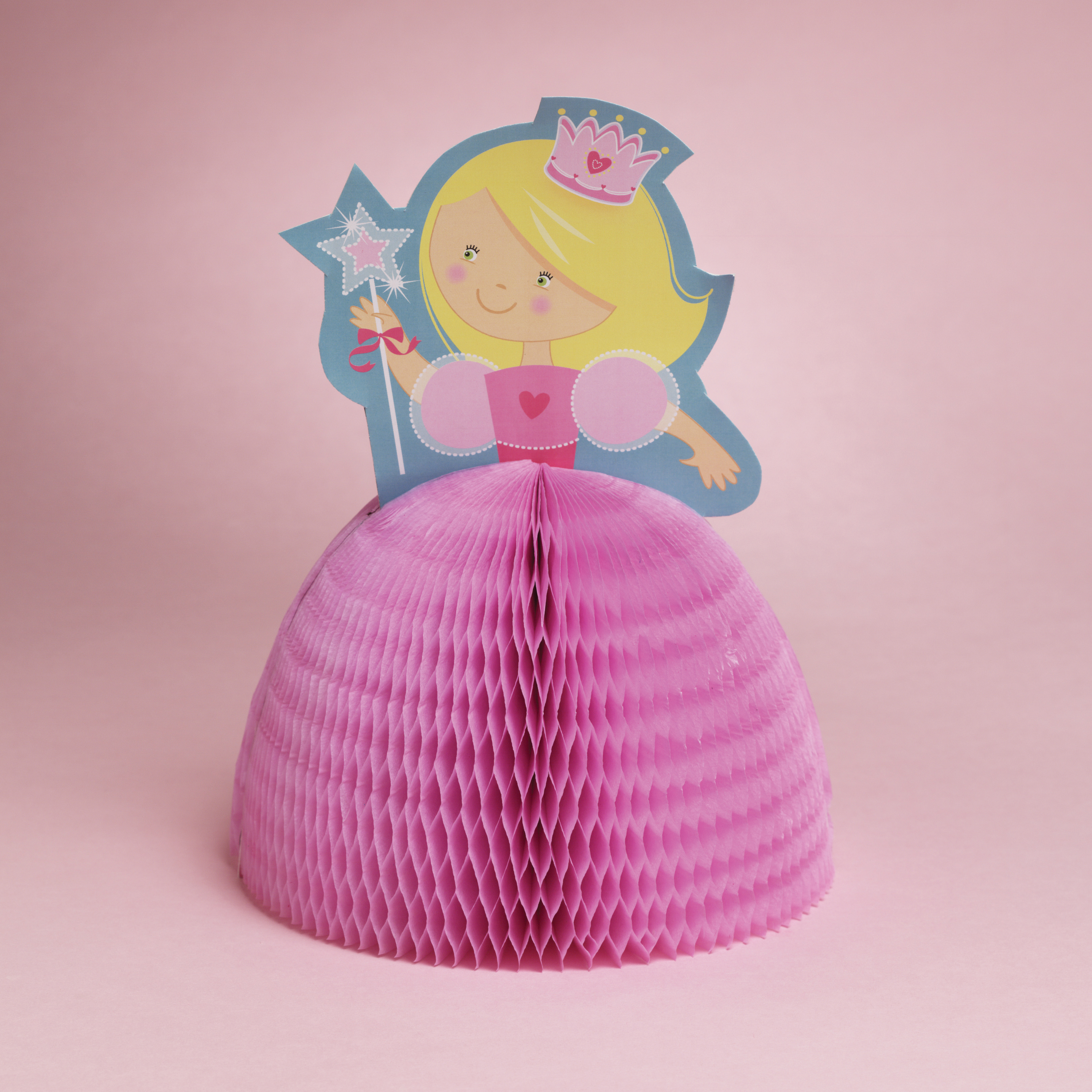 Fairytale Princess Honeycomb Centerpiece