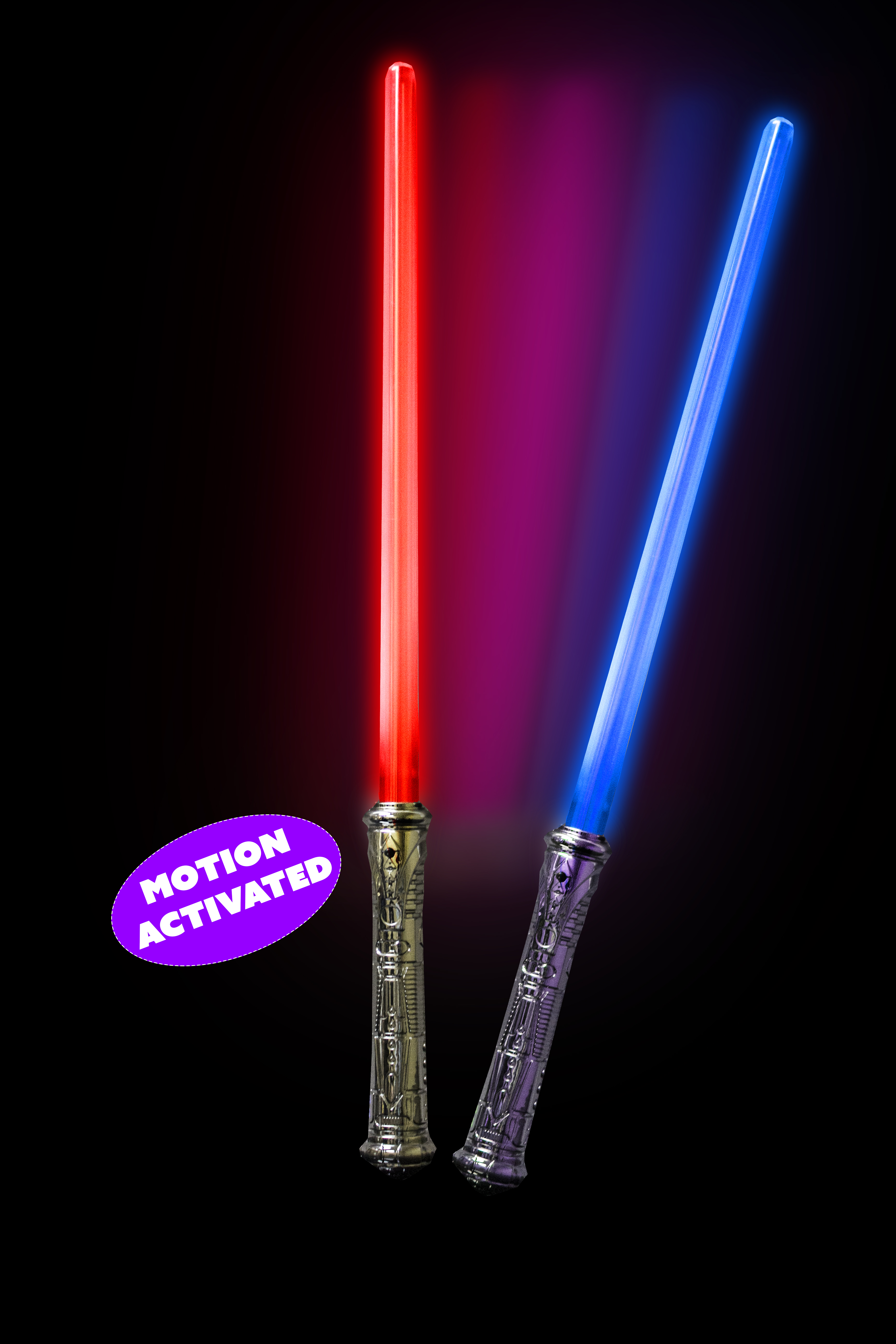 Fun Central X826 LED Light Up Motion Activated Light Saber