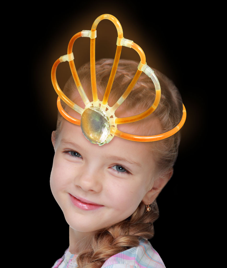 Glow Crown- Orange