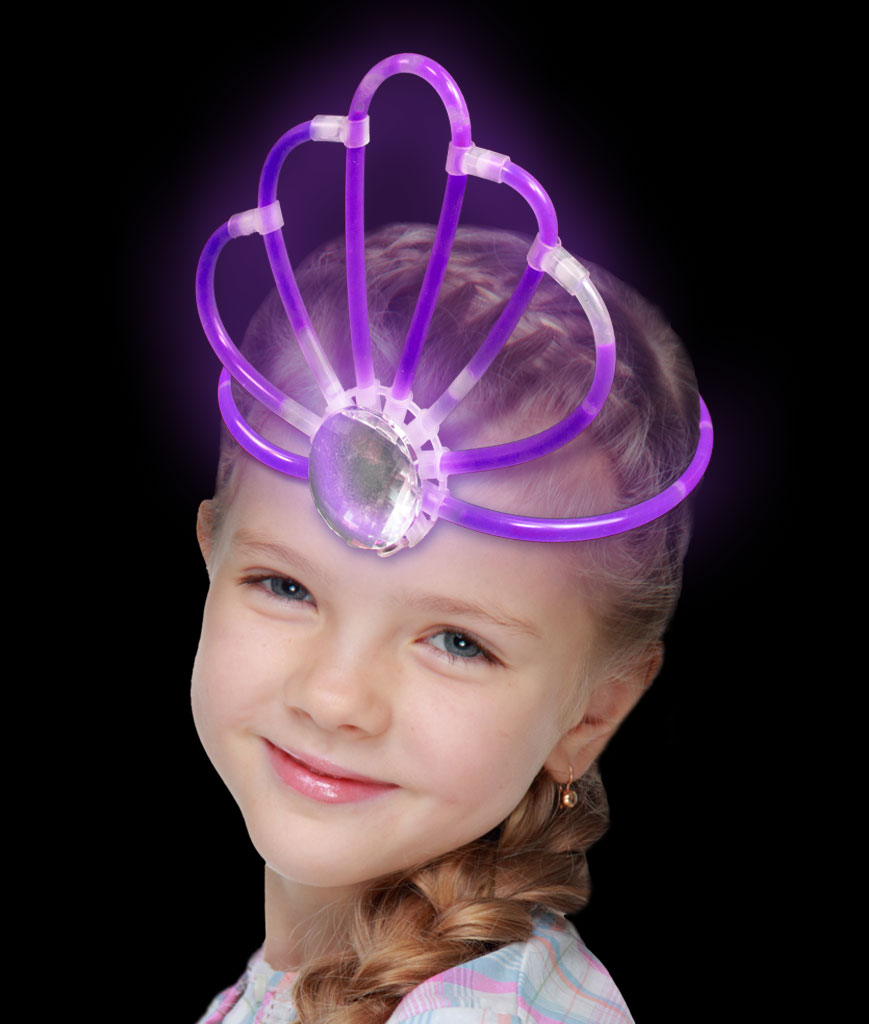Glow Crown- Purple