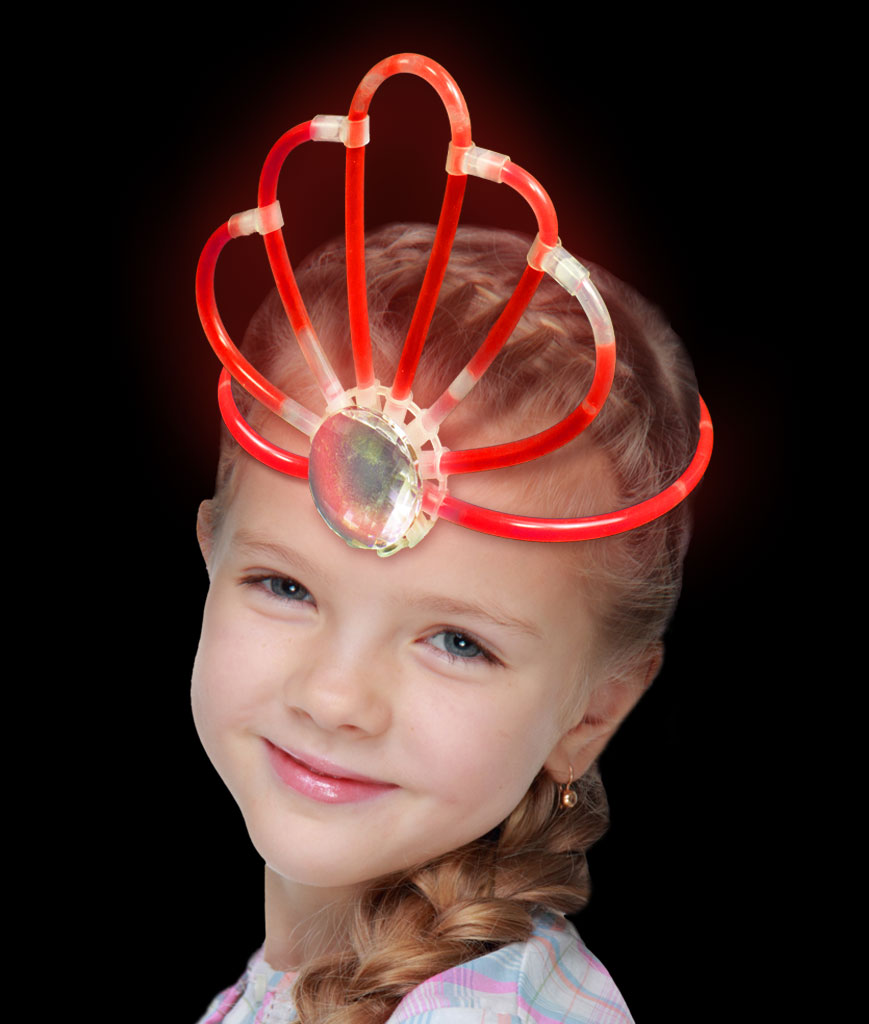 Glow Crown- Red