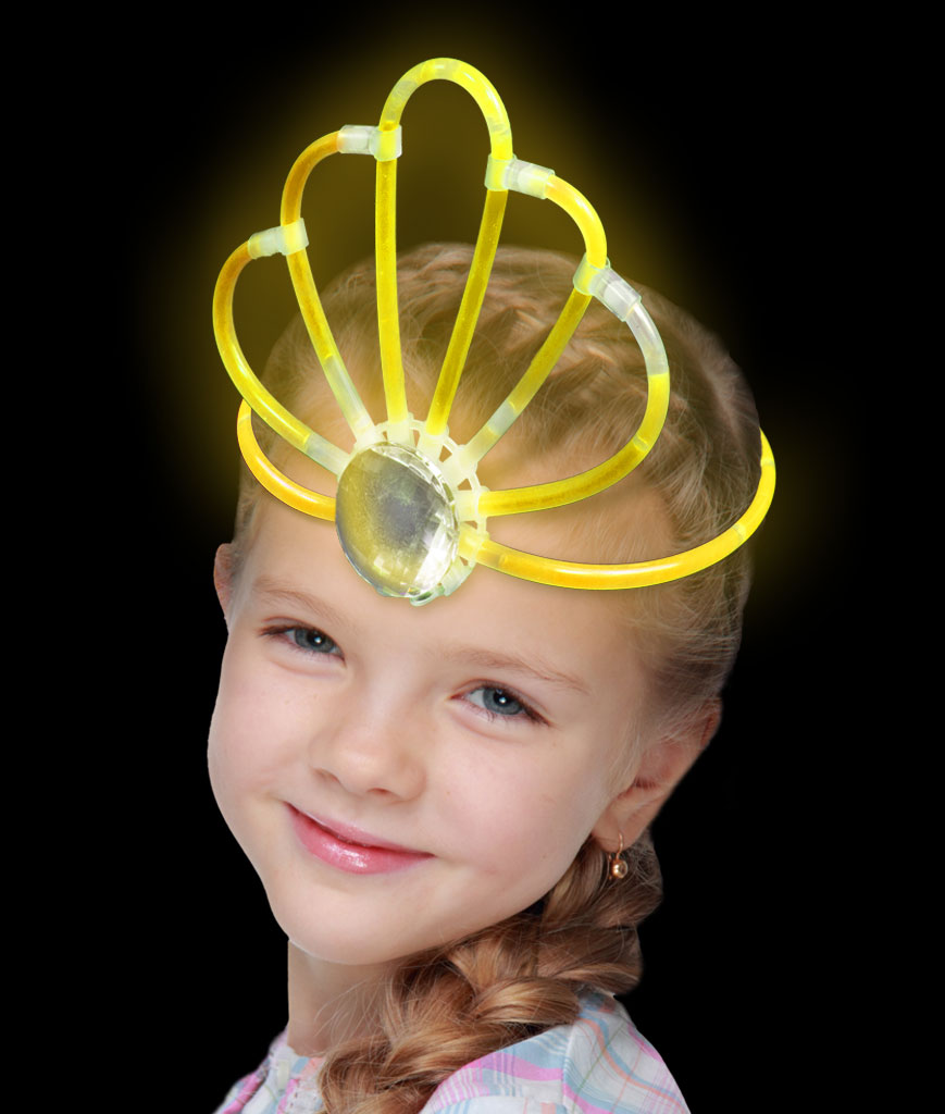 Glow Crown- Yellow