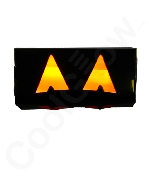 Glow Spooky Jack o' Lantern Eyes-Orange