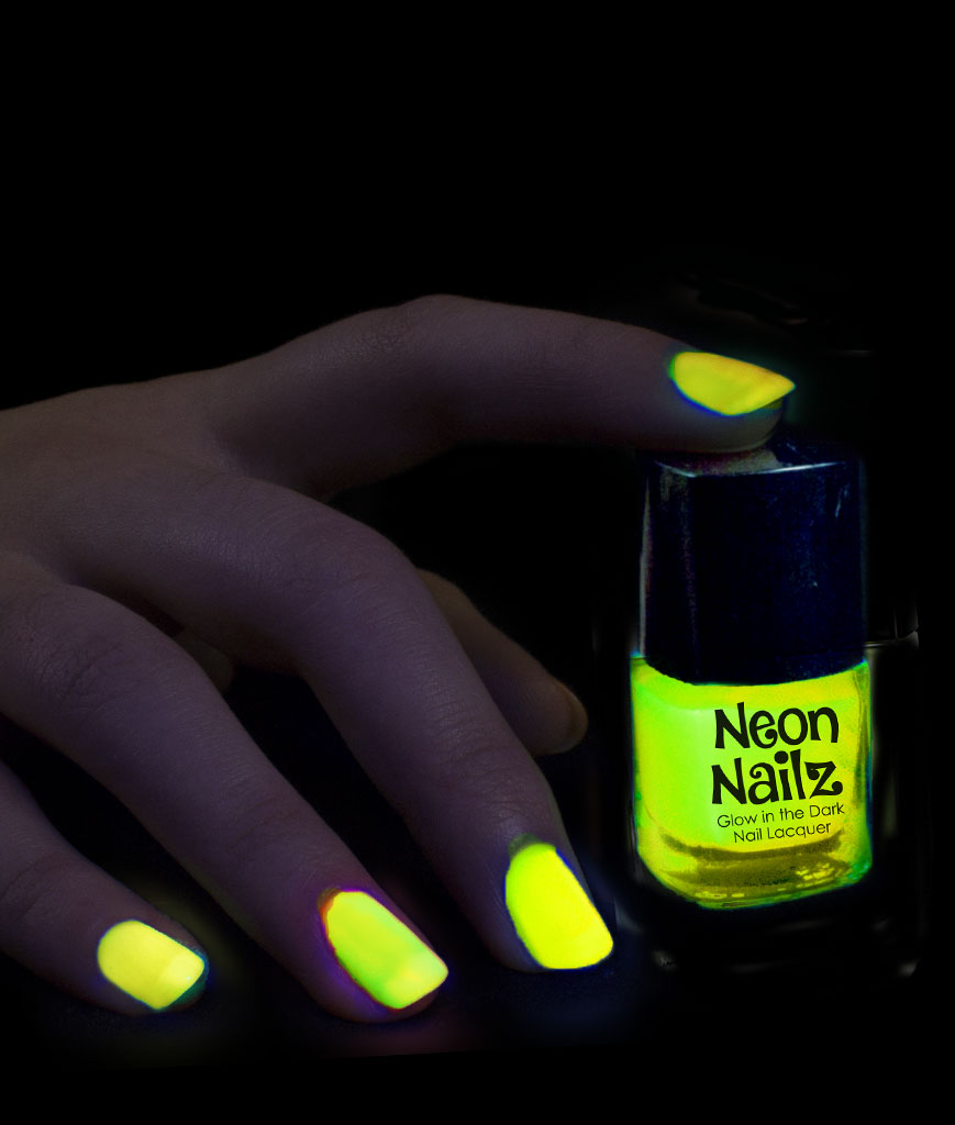 Glow in the Dark Nail Polish - Yellow