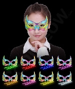 Glow Multi-Colored Mask - Assorted