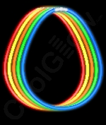 Fun Central J6 22 Inch Premium Glow in the Dark Stick Necklaces - Assorted