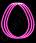 Fun Central S9 22 Inch Glow in the Dark Necklaces - Pink
