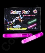 1.5 Inch Retail Packaged Glow Sticks - Pink