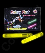 1.5 Inch Retail Packaged Glow Sticks - Yellow