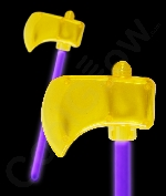 Glow Axe - Purple