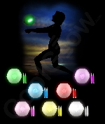 Glow Beach Ball- Assorted