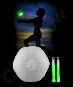 Glow Beach Ball- Green