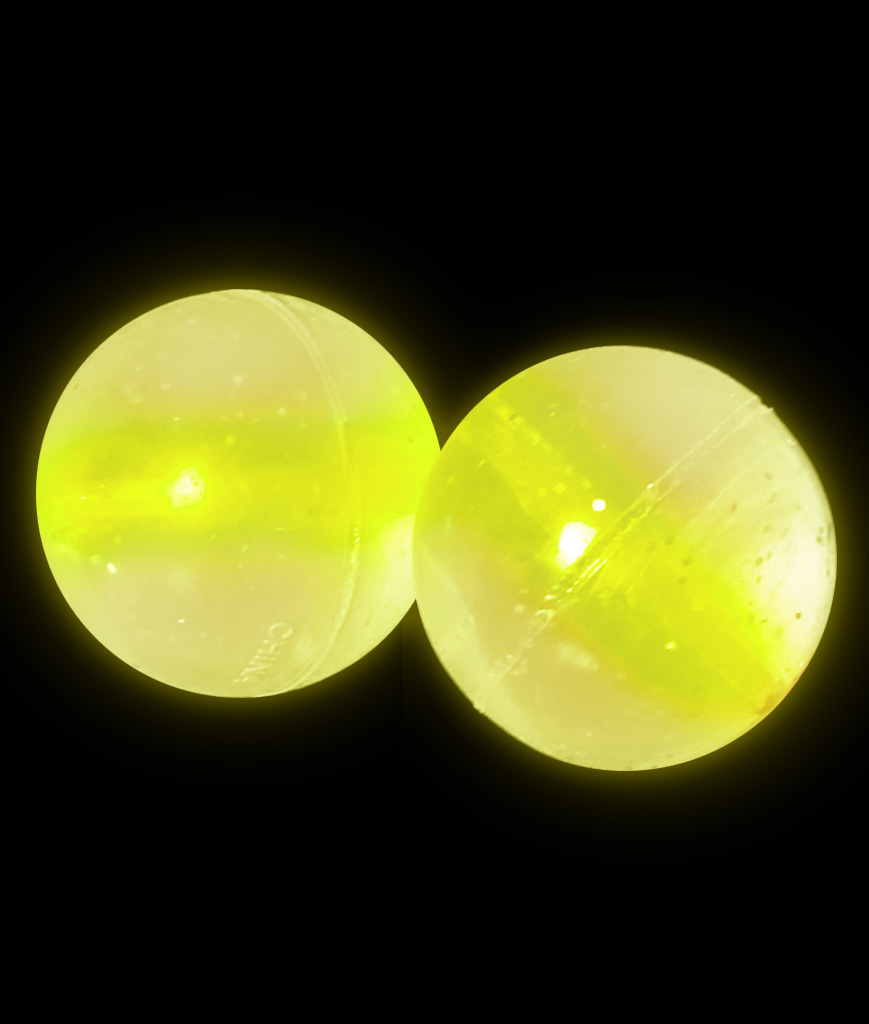 Glow Bouncing Balls - Yellow