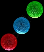 2.5 Inch Glow Bouncy Ball - Assorted