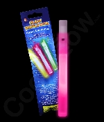 Glow Whistles 6 inch - Pink