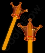 Glow Crown Wand - Orange