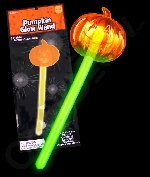 Glow Pumpkin Wand - Green