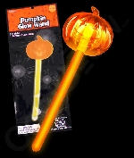 Fun Central V843 Glow in the Dark Pumpkin Wand - Orange