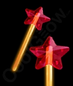 Glow Premium Star Wand - Orange