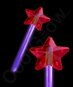 Glow Premium Star Wand - Purple