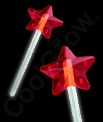 Glow Star Wand - White