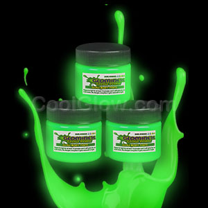 Glominex Glow Paint 1 oz Jar - Green
