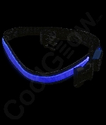 LED Belt - 33 Inch - Blue