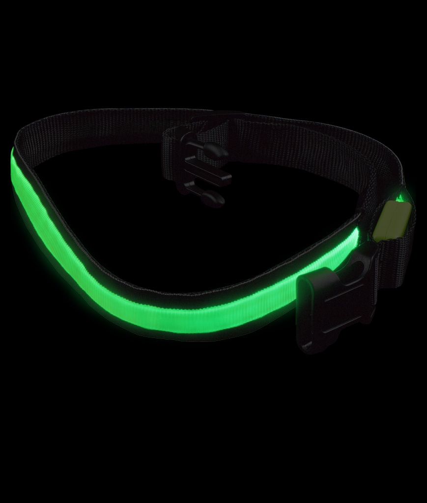 LED Belt - 33 Inch - Green