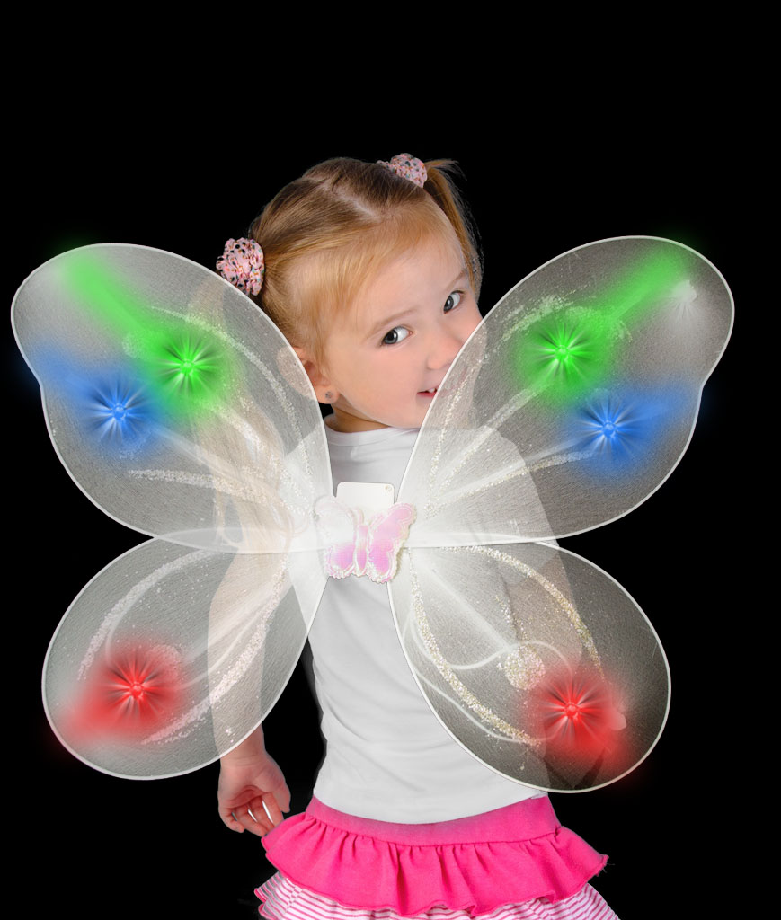 LED Butterfly Wings - Multicolor