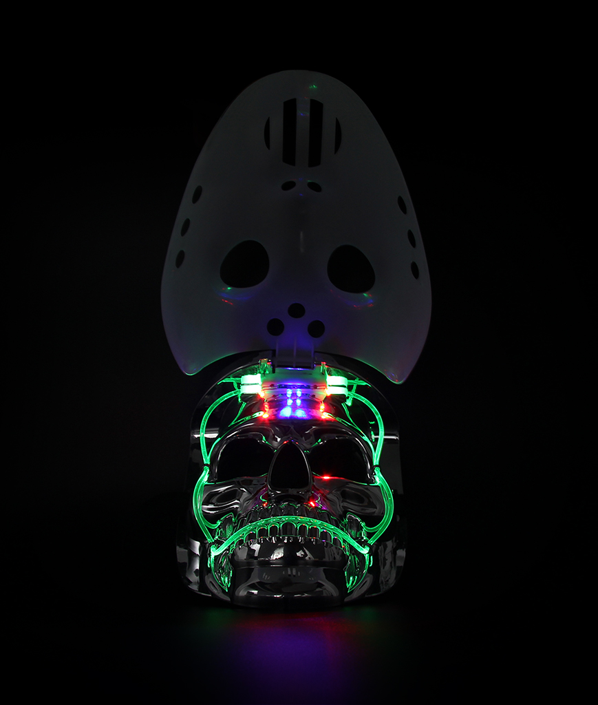Fun Central AJ212 LED Light Up Skull Mask