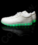 Fun Central AU528 LED Light Up White Shoes - M11
