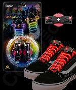 LED Shoe Laces - Red