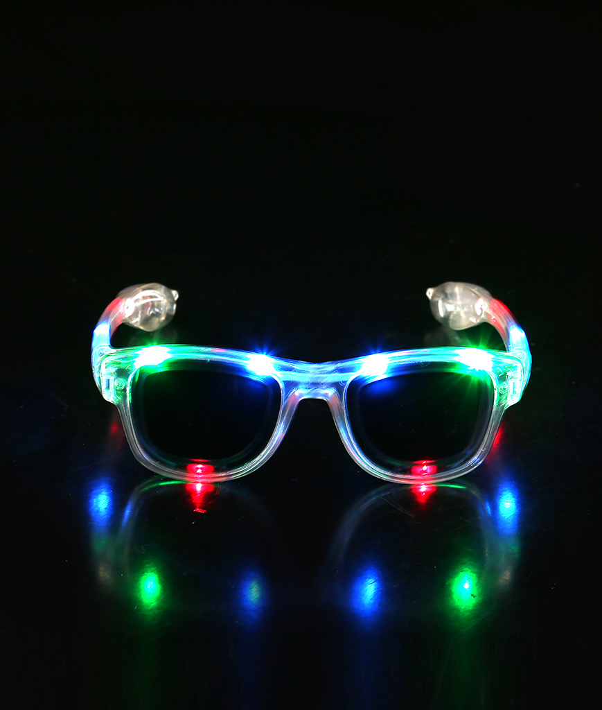 Fun Central AT961 LED Light Up Square Framed Sunglasses