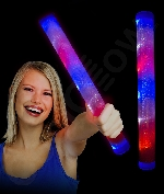 Light Up Baton - Red-White-Blue