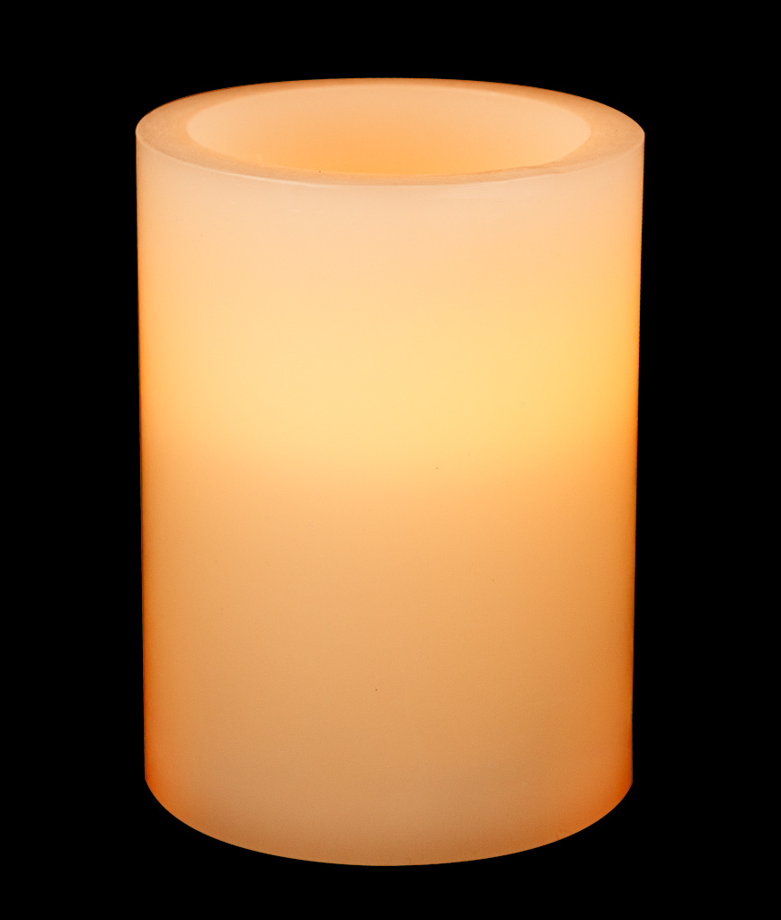 Fun Central AT751 LED Light Up Pillar Candle 3.5in