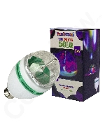 LED 3 Watt Disco Rotating Bulb