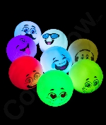 Fun Central AY950 2.5 Inch Led Emoji Mood Light- Assorted