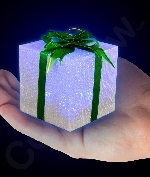 LED 3 Inch Gift Box Ornament